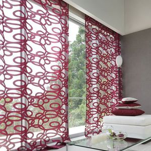 patterned curtain