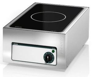 induction cooktop / commercial / stainless steel / 1 burner