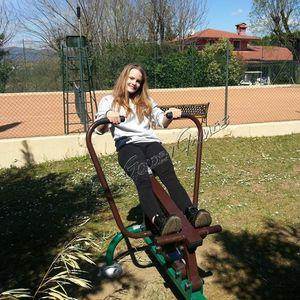 outdoor rowing machine