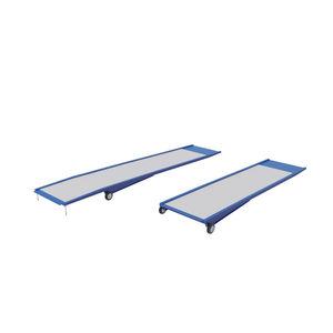 metal access ramp / threshold / portable