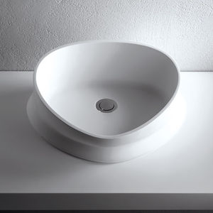 free-standing washbasin / Solid Surface / contemporary