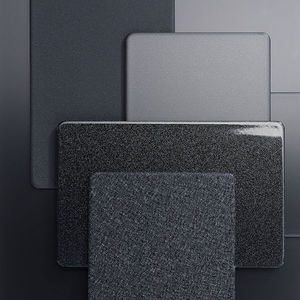 strip cladding / composite / metal look