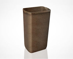 bathroom trash can / wall-mounted / recycled plastic / for hotel