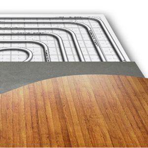 hot water underfloor heating