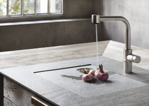 Natural stone kitchen sink - All architecture and design ...