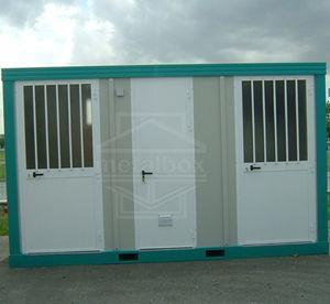 prefab building / metal / steel framing / locker room