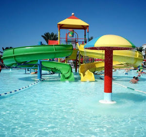 water park play structure