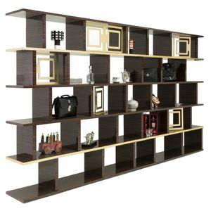 contemporary shelf / wood veneer