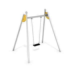 stainless steel swing / playground