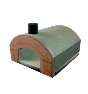 wood-burning oven / free-standing / garden