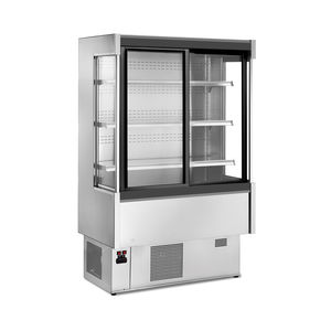 upright refrigerated display case