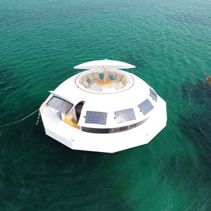 floating micro-house
