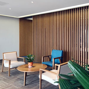 construction wood panel / wall-mounted / for partition walls / for false ceilings