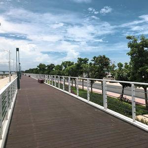 bamboo bridge decking