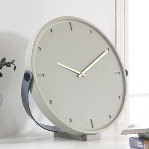 contemporary clocks / analog / wall-mounted / desk