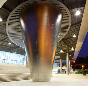 stainless steel column cover