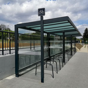 steel cycle shelter / modular