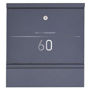 wall-mounted mailbox