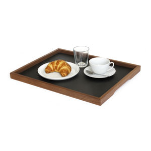 walnut serving tray / home