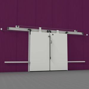 double-leaf industrial doors