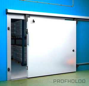 thermally-insulated industrial doors