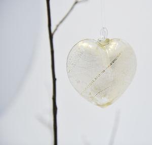 blown glass Christmas tree decoration