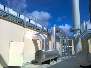 carbon steel ventilation silencer