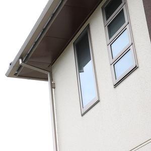 aluminum roof gutter