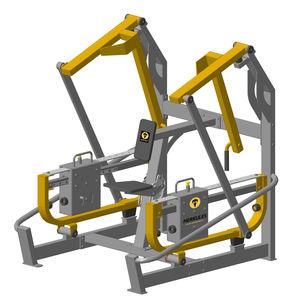 shoulder press weight training machine