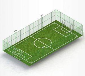public space soccer field
