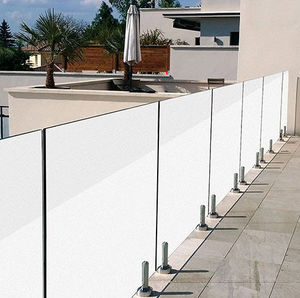 glass windbreak panel