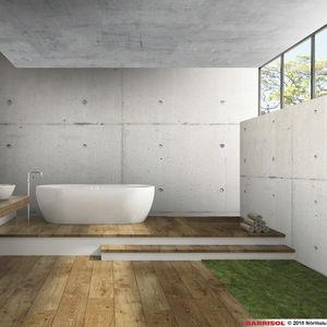 concrete effect stretch ceiling