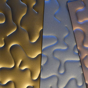 embossed metal sheet