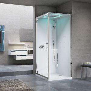 hydromassage shower cubicle