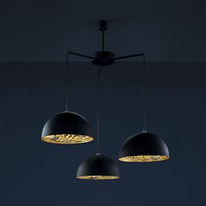 contemporary chandelier / steel / aluminum / copper
