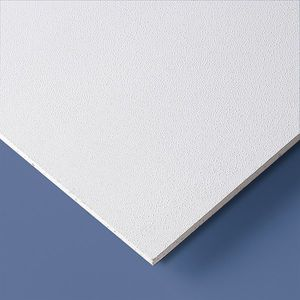 interior acoustic panel / PVC / perforated / for public buildings