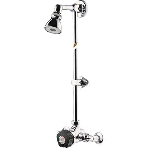 wall-mounted shower set / contemporary / commercial / with adjustable shower head