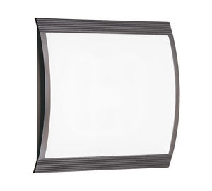 wall-mounted emergency light / square / LED / polycarbonate