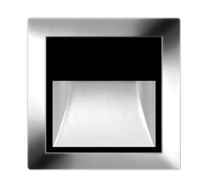 surface-mounted light fixture / LED / square / outdoor