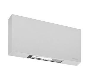 wall-mounted emergency light / rectangular / LED / aluminum