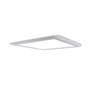 surface-mounted light fixture / LED / square / aluminum