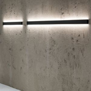 contemporary wall light / aluminum / LED / linear