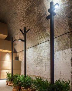 garden lamppost / contemporary / aluminum / LED