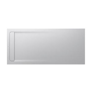 rectangular shower tray / stone / extra-flat / non-slip