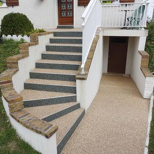 quartz step covering