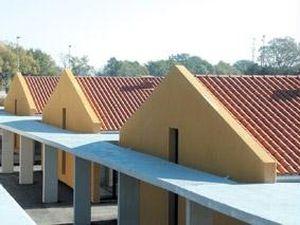 Fiber Cement Roofing Sheet Tegolit 235 Plus Edilfibro Pva Corrugated Colored