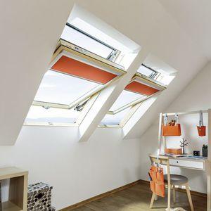 pivoting roof window