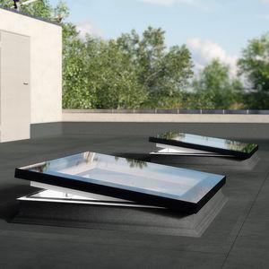 flat roof skylight