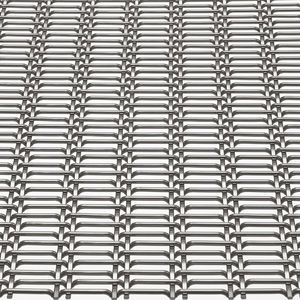 cladding woven wire fabric / for ceilings / for curtain walls / solar shading