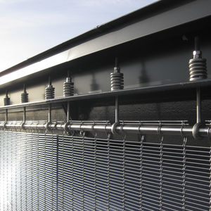 stainless steel fastening system / for facade cladding / for curtain walls / exterior